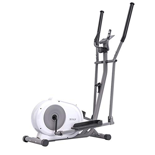 Ouya Elliptical Machine, Elliptical Cross Trainer for Home Use with Pulse Rate Grips and LCD Monitor Magnetic Smooth Quiet Driven Trainer Exercise Bike Treadmill,A