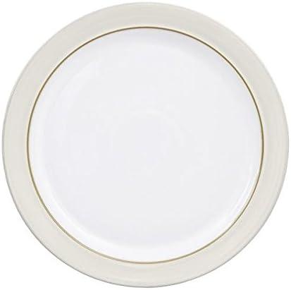 Denby Natural favorite Canvas Dinner of 4 Plate Set Under blast sales