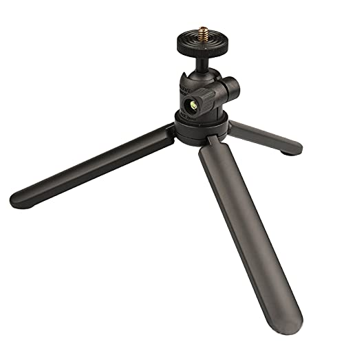 H HILABEE Tabletop Mini trípode Plegable Flexible Soporte de cámara portátil Flexible...