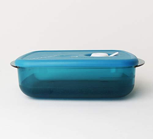 Warm-up Tupperware Microlus - Recipiente para microondas (600 ml, con válvula Micro Plus y cuchara para kiwi)
