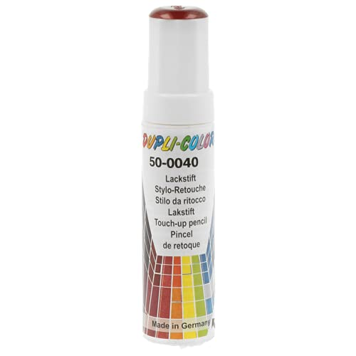 Dupli-Color 859281 Auto-Color-Lackstifte, 12 ml, AC Rot Metallic 50-0040
