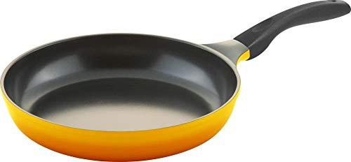 Steuber culinario Bratpfanne Ø 28 cm, gelb, antihaft-cerathermplus-Beschichtung und induktionsgeeignet