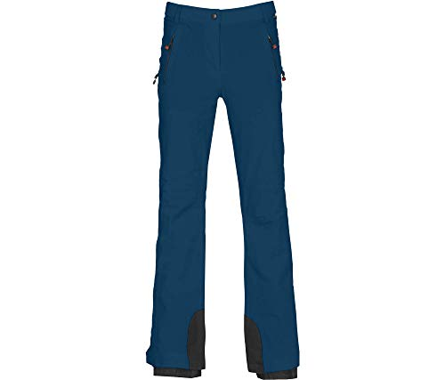 Bergson Damen Skihose Ice Light, Poseidon [390], 40 - Damen