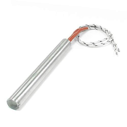 Elemento calefactor de molde calentador de cartucho de alto rendimiento 10,4'alambre esencial 220 V 500 W bien hecho 12 mm x 100 mm (f4b-85-ae-4a8)