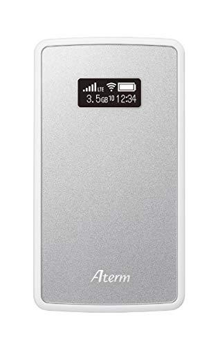 NECプラットフォームズ Aterm モバイルルーター MP02LN SW メタリックシルバー PA-MP02LN-SW