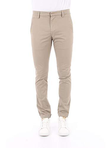 DONDUP UP235GSE046UPTD Pantalone Uomo Ecru' 32