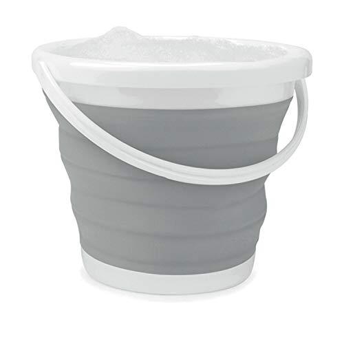Cubo plegable Beldray LA028495GRY, 10 litros, gris