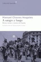 A SANGRE Y FUEGO(Paperback) - 2013 Edition