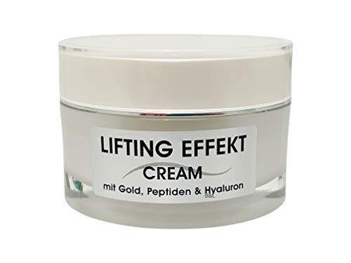 Joveka Lifting Effekt Cream Day & Night mit Gold, Peptiden und Hyaluron 50 ml.