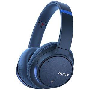 ソニー ワイヤレスノイズキャンセリングヘッドホン WH-CH700N : Amazon Alexa搭載 Bluetooth対応 最大35時間連続再生 マイク付き 2018年モデル ブルー WH-CH700N L