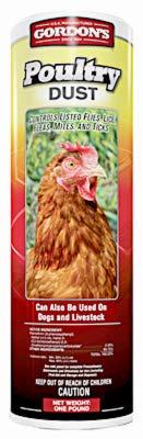 Gordon's Pbi 5383552 Poultry Dust Insecticide, 1-Lb. - Quantity 6