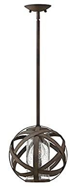 Hinkley Lighting Carson Vintage Iron Outdoor w/ 1 Light 100W
