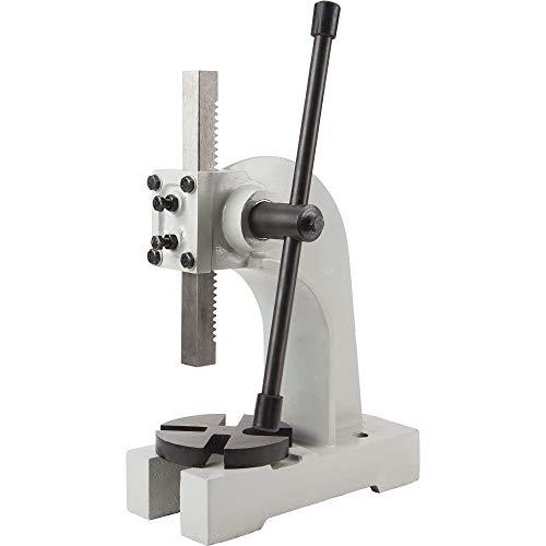 Klutch 2-Ton Arbor Press Metal Fabrication Shop Press