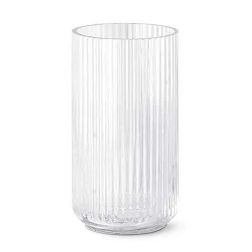Lyngby Lyngbyvase Vase, Glas, durchsichtig, 15x15x25 cm