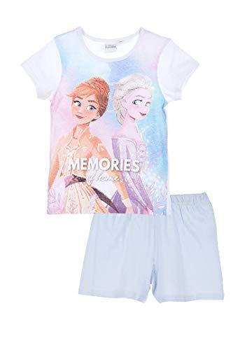 Die Eiskönigin 2 Schlafanzug Pyjama Mädchen (Rosa 2, 110)