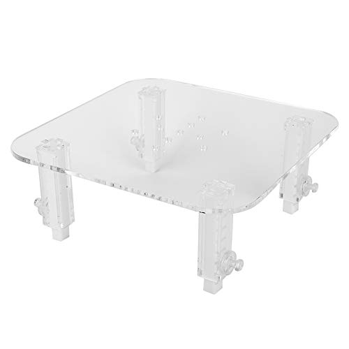 01 02 015 Protein Skimmer Adjustable Height Heightening Accessories Skimmer Stand Acrylic Durable for Aquarium Fish Tank(Large egg skimmer stand)