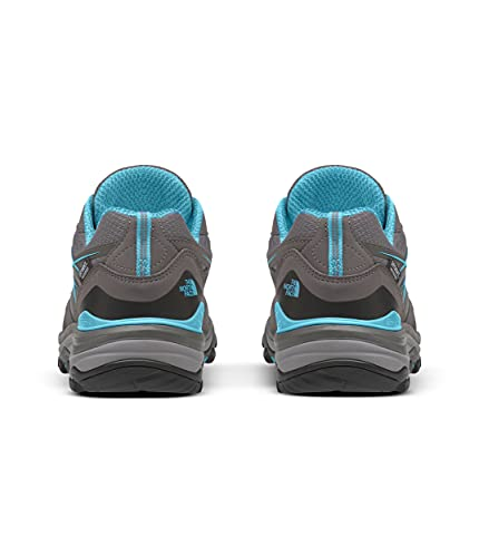 The North Face Women's Hedgehog Fastpack Waterproof Hiking Shoe, Dark Gull Grey/Fortuna Blue