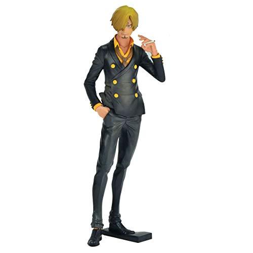 One Piece Grandsta The Grandline Men - Sanji Ref.29288/29293 Bandai Banpresto Cores Diversas, Feita Com Pintura Aerográfica
