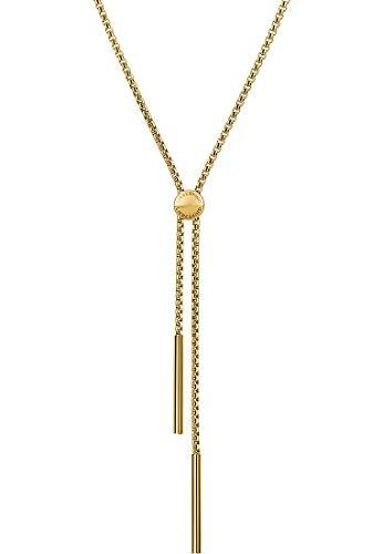 Liebeskind LJ-0146-N-85 Damen Collier Edelstahl Gold 85 cm