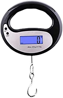 JJJJD Baggage Scale Mini Portable Luggage Scale Home Travel Electronic Scale (40KG/20g Weighing Range)