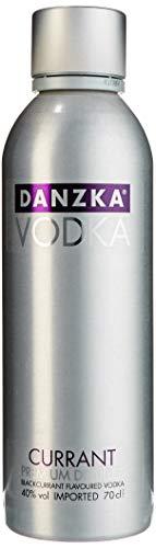 Danzka | Currant | Premium - Wodka | 1 x 700ml | Aluminiumflasche | Skandinavisches Design | Copenhagen