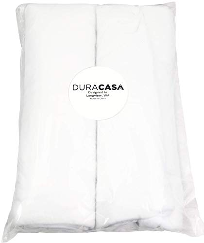 DuraCasa Christmas Snow Roll Set - Includes 2 Packages of 3 Foot X 8 Foot Artificial Snow Blankets for Christmas Decorations - Ideal for A Christmas Village Backdrop (1)
