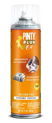 PINTYPLUS OIL 211 Desmoldeante Spray sin Silicona 650cc, Único, Estándar