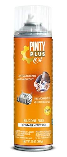 PINTYPLUS OIL 211 Desmoldeante Spray sin Silicona 650cc, Ún