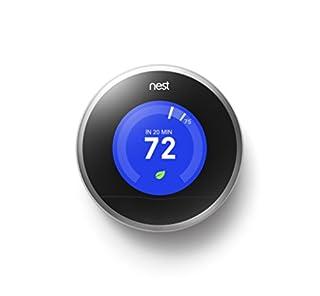 Nest Learning Thermostat, 2nd Generation, Works with Amazon Alexa (B009GDHYPQ)   Amazon price tracker / tracking, Amazon price history charts, Amazon price watches, Amazon price drop alerts