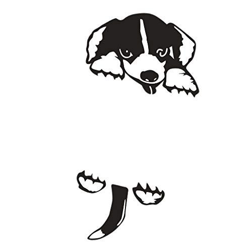 MagiDeal Etiqueta Engomada Del Interruptor de 5 Uds, Pegatina para Interruptor de Pared de Vinilo de Perro de Dibujos Animados Lindo Encantador para Decoració