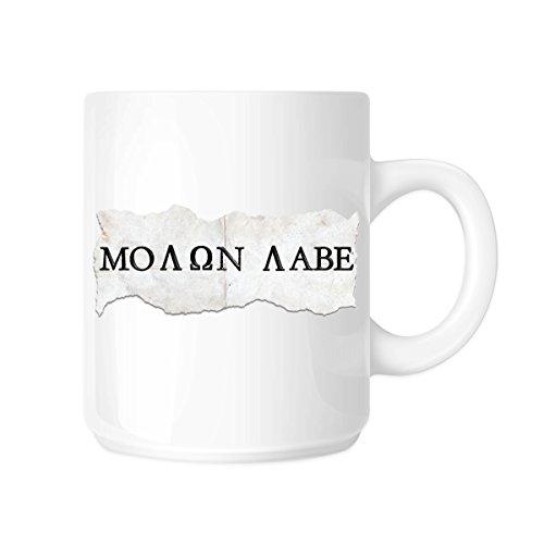 Molon (Usurpator) Elbe kommen und Sie 313ml Kaffee Tasse