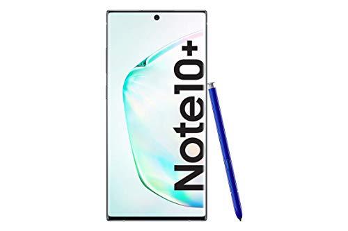 Samsung Galaxy Note10+ SM-N975F - Smartphone (Dual SIM, 12 GB RAM, 256 GB Memoria, 10 MP Dual Pixel AF) Brillante (Aura Glow)