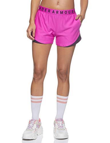 Under Armour Play Up 3.0 - Pantalones cortos para mujer - 1344552, Play Up 3.0 Pantalones cortos, L,...