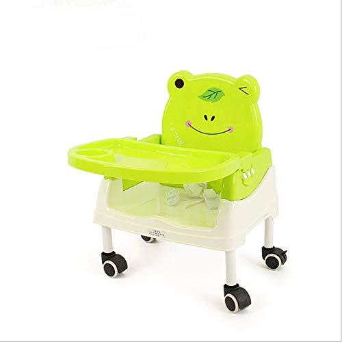 shixiaodan Kinderhochstuhl Kinderesszimmerstuhl Faltbare Babystuhl Tisch mit Platte Multifunktions Portable