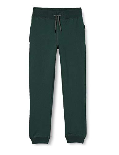 NAME IT NKMSWEAT Pant BRU Noos-Pantalón Deportivo, Verde Oscuro, 13 años para Niños