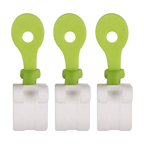 Cuasting 3 piezas de decoración de pasteles bolsas clips de glaseado de tuberías bolsas de glaseado pastel magdalenas bolsa de hielo hebillas reutilizables herramientas para hornear