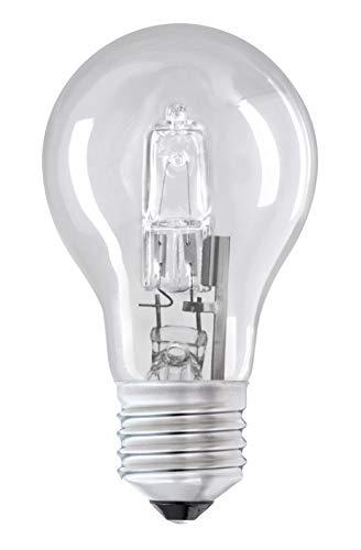 Edison - Bombilla halógena (casquillo E27, 115 W, E27, 150 W, 100% regulable, 4 unidades)