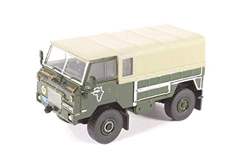 Land Rover Forward Control GS, Trans Sahara Expedition, 1974, Modellauto, Fertigmodell, Oxford 1:76