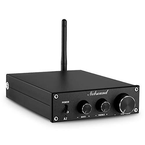 Nobsound A2 HiFi Stereo Bluetooth 4.2 Class D Endstufe Home Audio Verstärker APTX-LL 160W + 160W Leistungsverstärker