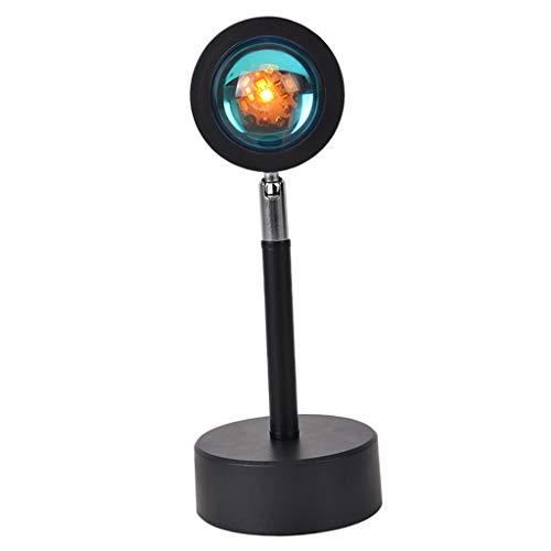 MERIGLARE Proyector LED Atmósfera Luz USB Fondo Fiesta Decoración - Arco iris