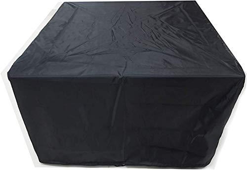 AXAA Fundas para Muebles de jardín Impermeables 280x280x80cm, Cuadradas Impermeables, Transpirables, Protección UV Funda de ratán para Muebles, para Cubos, Patio, Protector de Muebles de Exterior