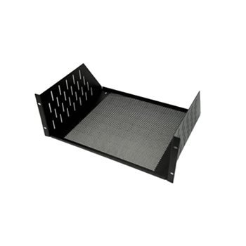 /  3U, Black Steel, 446/ mm 368,2/ mm; 133.3/ mm PENN ELCOM R1194//3UVK Black Shelf/