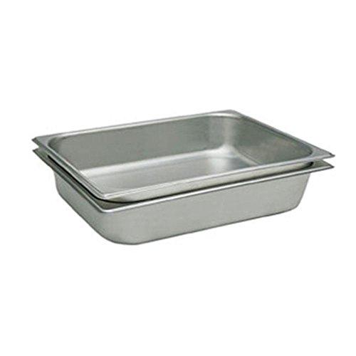 Update International STP-1004 Full Size Pan Straight-Sided 25 Gauge, 4