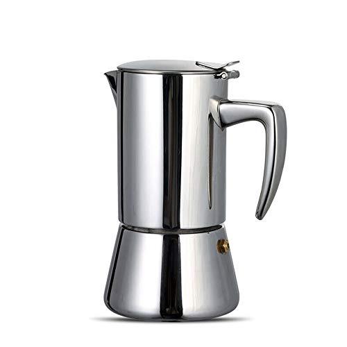Find Bargain Stovetop Espresso Maker Moka Pot, Italian Coffee Maker Percolator, Stainless Steel, Sui...