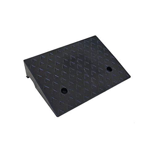 CJXing Slope Rubberen rampen, zwart, duurzame driehoekige oplegger robuuste, antislip opstapmat, zware vrachtwagencaravan-boordstangen verschillende specificaties