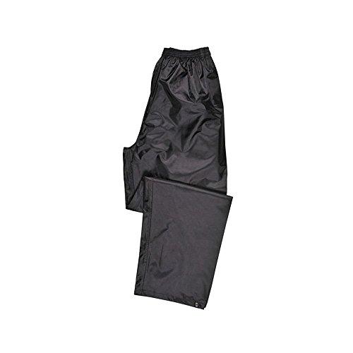 Portwest - Pantaloni impermeabili, colore: Nero Large Nero