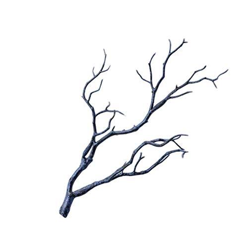 Uzinb 3pcs Grande de la Boda Decoraci/ón Rama de simulaci/ón de pl/ástico Ramas de /árbol Secado Artificial Falso follaje de Las Plantas