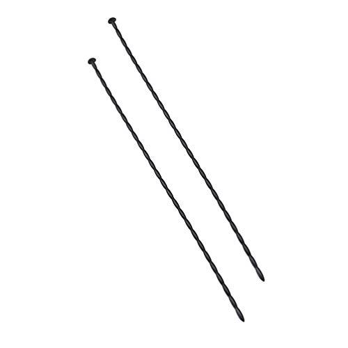 SUPVOX 2 piezas de silicona varillas de sondeo uretrales camilla herramientas adultos juguete para hombres 4 mm