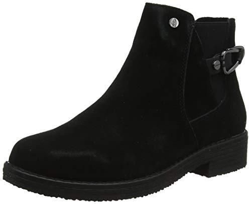 Hush Puppies Alaska Chelsea Boot, Damen Chelsea Boots, Schwarz (Black 000), 35 EU (3 UK)