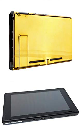 Chrome Gold Custom Console for Nintendo Switch (Tablet Only)
